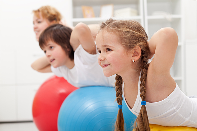 Structured Exercise Helps Kids Behave Better